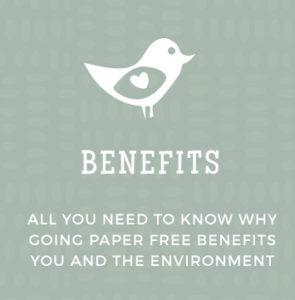 Paperless Weddings - Benefits