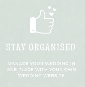 Paperless Weddings - Stay Organised