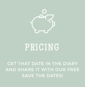 Paperless Weddings - Pricing