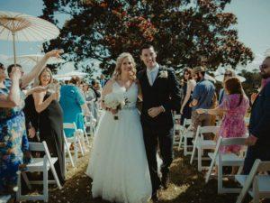 Anna and Michael confetti FB