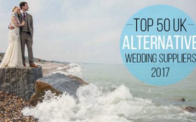 50 Best Alternative UK Wedding Suppliers