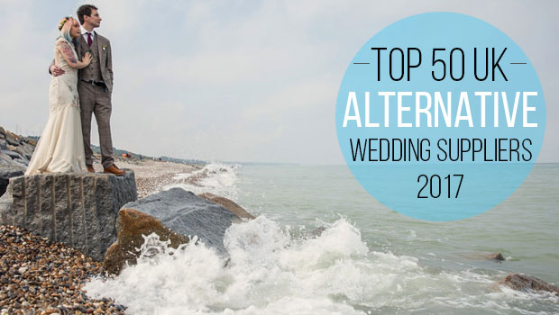 50 Best Alternative UK Wedding Suppliers