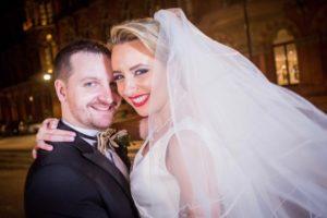 Art deco inspired wedding for Jonny and Charlotte