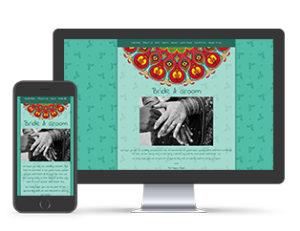 Paperless Wedding Website Indian Template